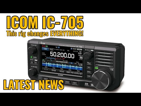 Icom IC-705 Price | Ham Radio News