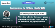 Unemployment for 2020 and filing for 2019