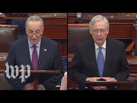 WATCH LIVE: McConnell, Schumer speak on Senate floor after House impeaches Trump