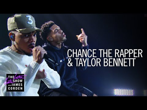 Chance the Rapper & Taylor Bennett – Roo (Live on The Late Late Show)