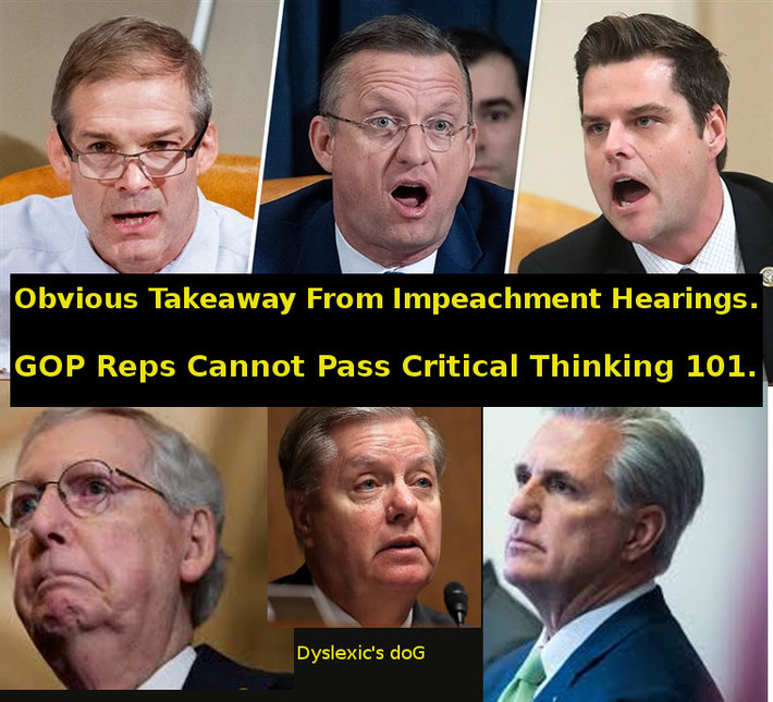 GOP incapable of critical thinking