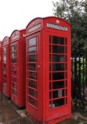 The Famous Red Telephone Booth