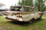 wagon rear