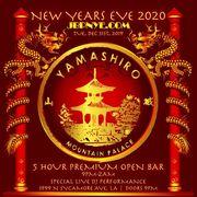 NYE | Yamashiro 2020 New Years Open Bar Tickets