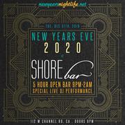 NYE | SHOREbar 2020 New Year's Eve