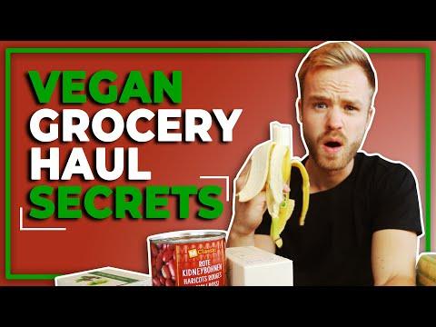 Vegan Grocery Haul SECRETS
