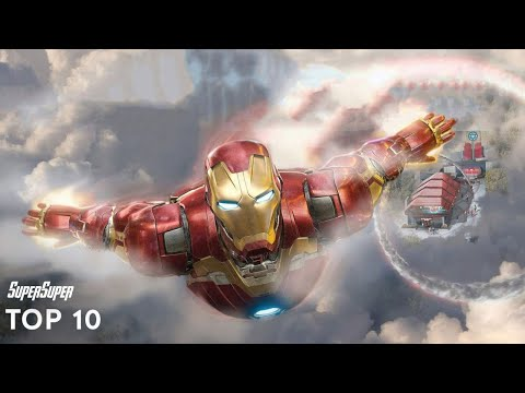 Top 10 Iron Man Fights | SuperSuper