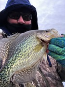 Some Chunky Tidal Crappie.......12/23/2019