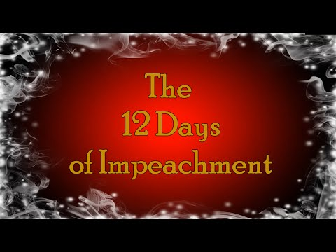 "Public Advocate Christmas Carol ""12 Days of Impeachment"""