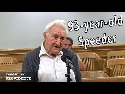 93-year-old Speeder