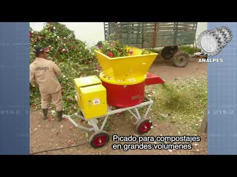 PICADORAS PARA DESECHOS ORGANICOS.  Analpes  2019.