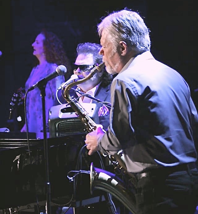 """Playing Sax on """"Lost In The 50s"""" with Ronnie Milsap!"""