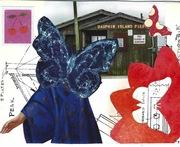 1128 Blue Butterfly by tonipoet