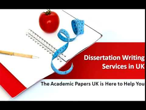 Dissertation Writing Services in UK - The Academic Papers UK