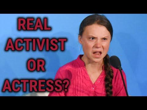 Is Greta Thunberg an actress?