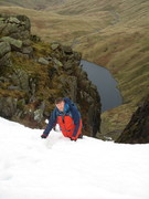 Top of Angle Tarn Gully