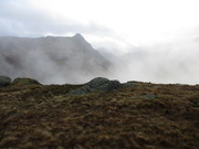 3. Pike o'Stickle from ridge betw. Stake Pass & Rossett Pike