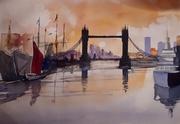 London, Watercolour 2019