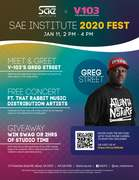 V103 x SAE Institute presents SAE Institute 2020 FEST
