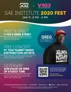 V103 x SAE Institute presents SAE Institute 2020 FEST