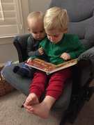 A love for stories begins when children are young!