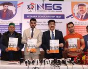 Sandeep Marwah Released The Brochure of Nizamia Scholarship Test