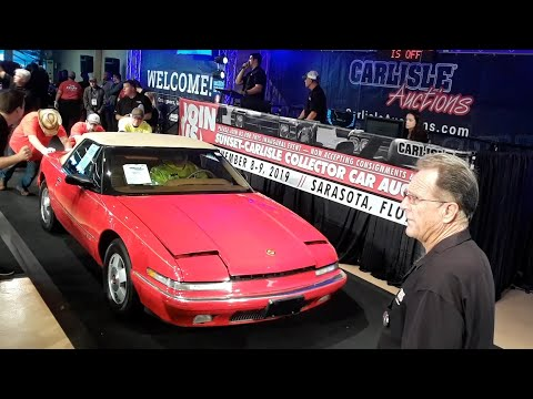 1990 Buick Reatta Convertible Crosses the Block At the 2019 Fall Carlisle Auction