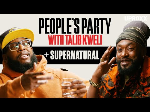 Talib Kweli And Supernatural Talk Freestyle, Rap Battles & New York Hip-Hop History | People's Party