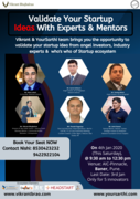 Validate Your Startup Ideas with Experts & Mentors