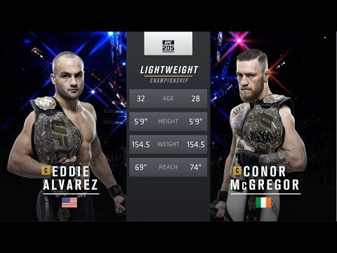 UFC 246 Free Fight: Conor McGregor vs Eddie Alvarez