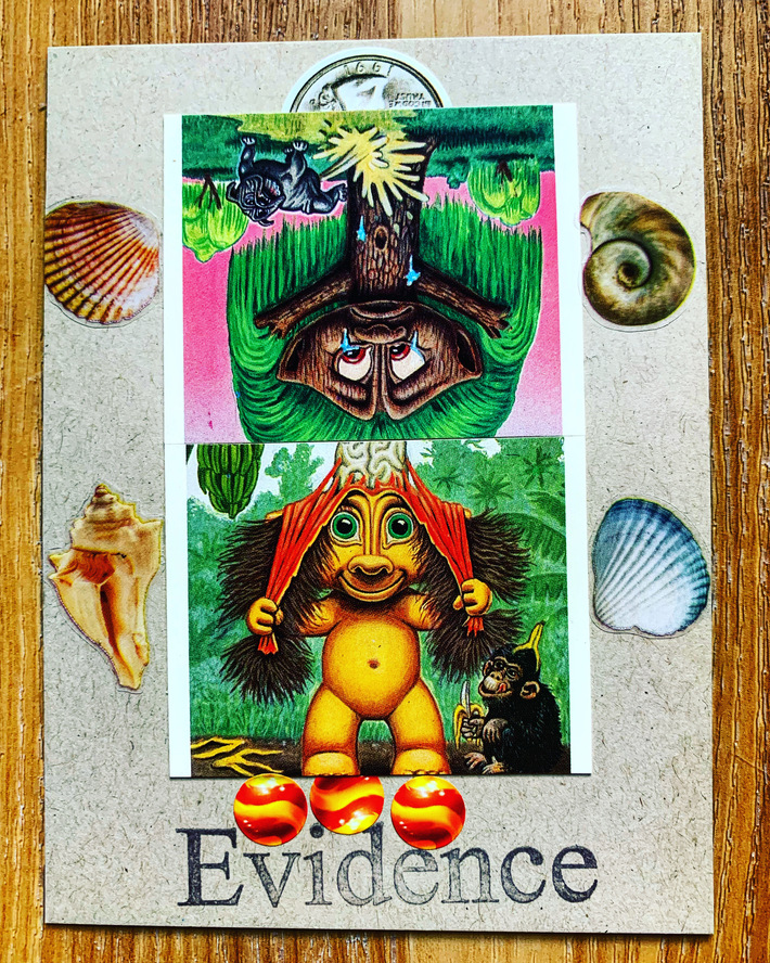 mail art collage