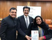 Sandeep Marwah Special Guest At Vice President House