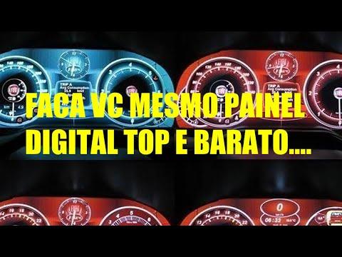FACA VC MESMO PAINEL DE INSTRUMENTOS DIGITAL