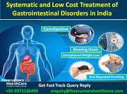 Systematic and Low Cost Treatment of Gastrointestinal Disorders in India