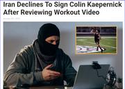 Colin Kaepernick (insert laughing emoji here)