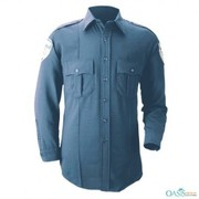 Classic Military Styled Polyester Shirt