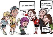 No free speech for You !!