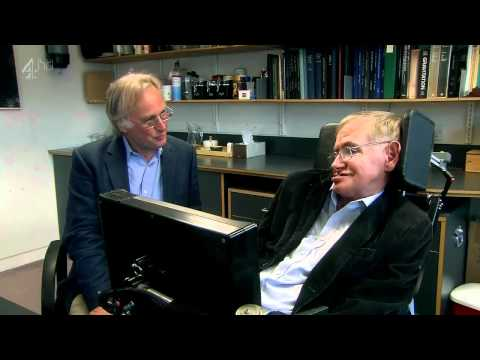Richard Dawkins and Stephen Hawking on evolution