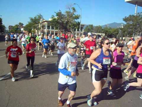Start of the Sailin' Shoes 5K and 10K in Colorado Springs