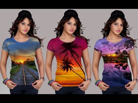 How to Put images on T   Shirts in Photoshop_Photoshop Tutorial
