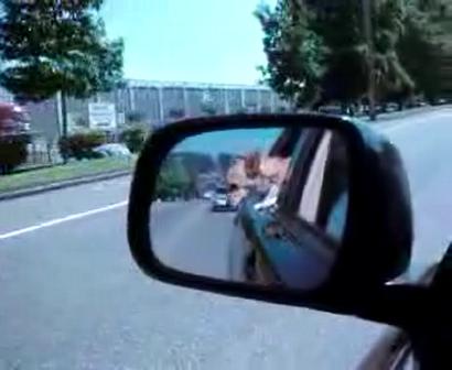 Bonnie takes a car ride