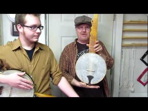 Short scale 'A' Boucher Minstrel Banjo