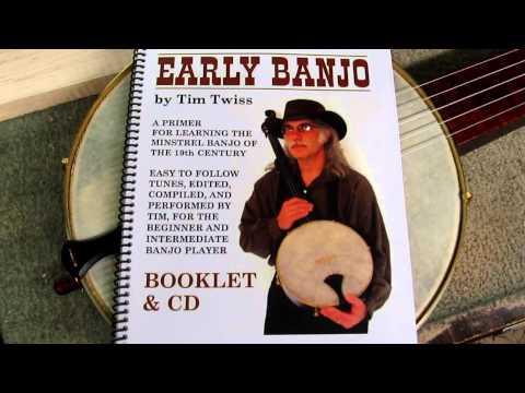 Bell Boucher Minstrel Banjo / Tim Twiss Instruction Book & CD