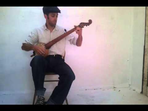 Briggs' Corn Shucking Jig  / Camptown Hornpipe gourd banjo
