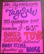Huge Tag Sale this Sunday!!