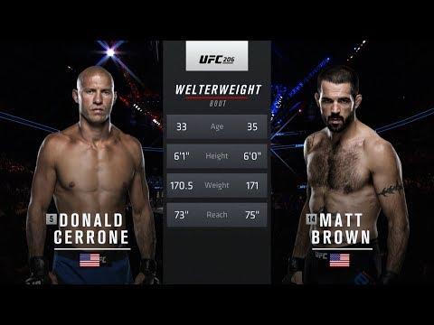 UFC 246 Free Fight: Donald Cerrone vs Matt Brown