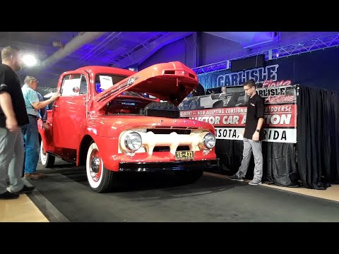 1952 Ford F1 V8 Someone Picked Up A Godd Pickup At the 2019 Fall Carlisle Auction