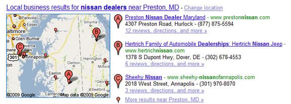 Nissan Dealers Maryland