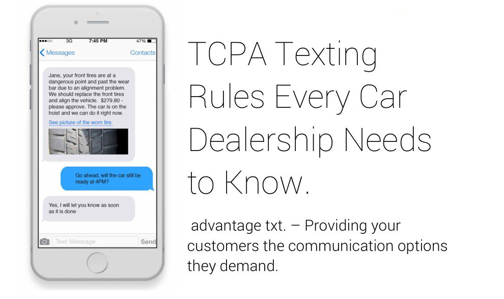 Tcpa texting rules