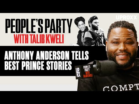Anthony Anderson Talks Hanging Out With Prince, Tells His Best Prince Stories | People's Party Clip